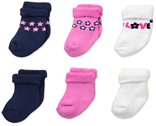 Gerber Baby-girls Newborn 6-Pack Variety Sock