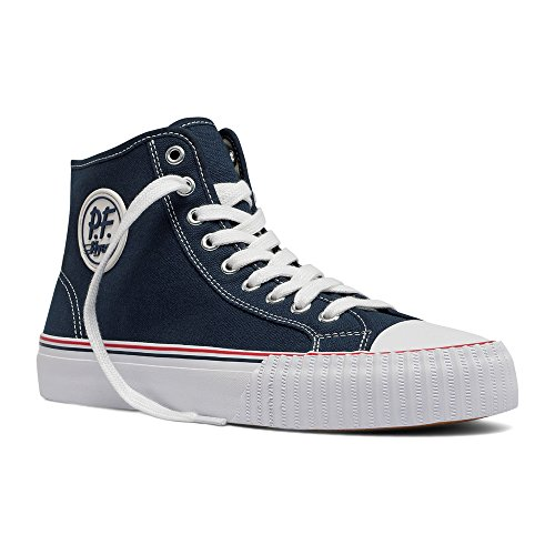 Pf Flyers Mens Center Hi Fashion Sneaker Blu Scuro