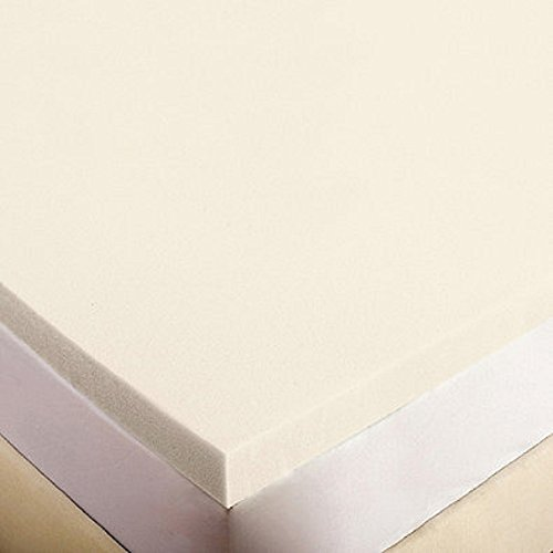 FoamRush 4'' Thick King Size Memory Foam Pad Mattress Topper Made in USA by FoamRush (Image #1)