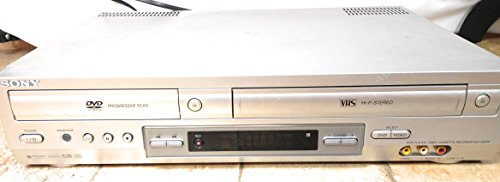 Sony DVD VCR Combo Player Model # SLV-D201P