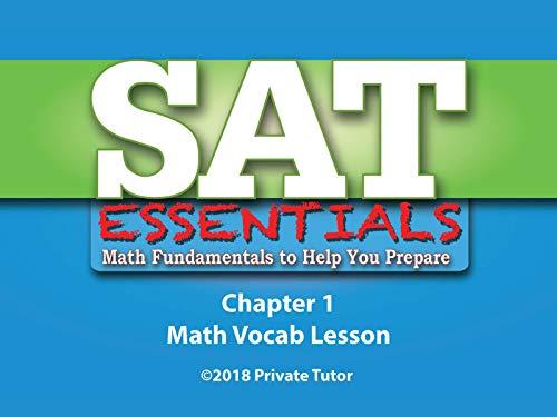 Ch. 1 - Math Vocab Lesson