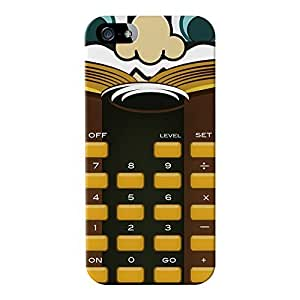 Mr Calculator Full Wrap High Quality 3D Printed Case for Apple? iPhone 5 / 5s by Nick Greenaway + FREE Crystal Clear Screen Protector