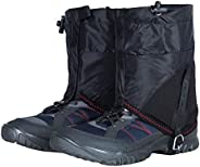 LIOOBO Waterproof Snow Gaiters Nylon Ski Gaiters Snow Gaiters Leg Gaiters for Hunting Fishing Camping Climbing