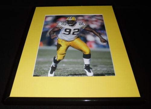 Reggie White Minister of Defense Packers Framed 11x14 Photo Display
