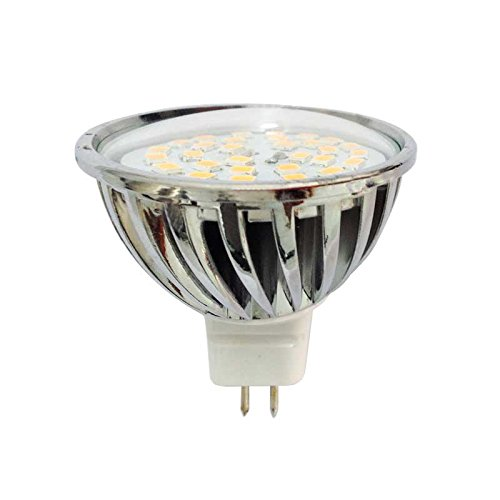 RLED Bombilla LED MR16 GU5.3, 7 W, Gris 46 x 49.5 mm: Amazon.es: Iluminación