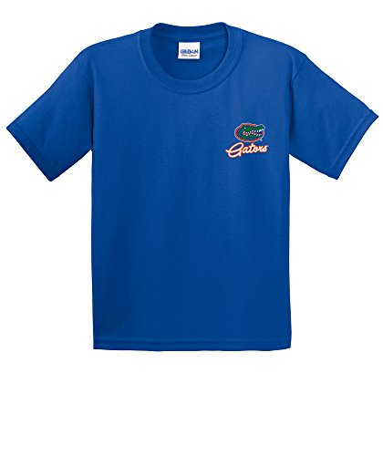 - NCAA Florida Gators Girls Cheer Loud Short Sleeve Cotton T-Shirt, Youth Large,Royal