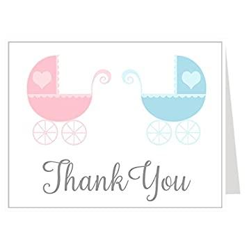 Amazon Com Thank You Cards Baby Shower Thank You Cards Lovely