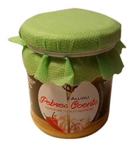 Mallorca Verda Salsa de Ajo y Aceite con Pimientos Picantes - 170 gr: Amazon.es: Alimentación y bebidas