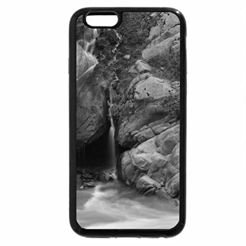 iPhone 6S Case, iPhone 6 Case (Black & White) - Waterfall-s--in-Neelum-Valley-Kashmir