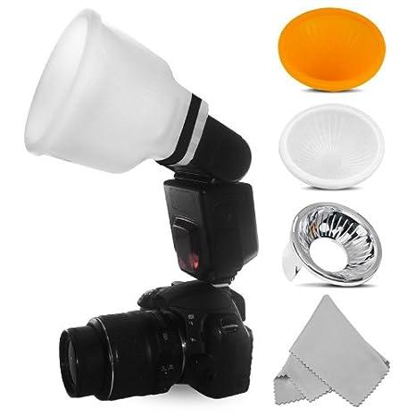 Universal Lambency Flash Diffuser clear for Nikon Speedlight SB-600