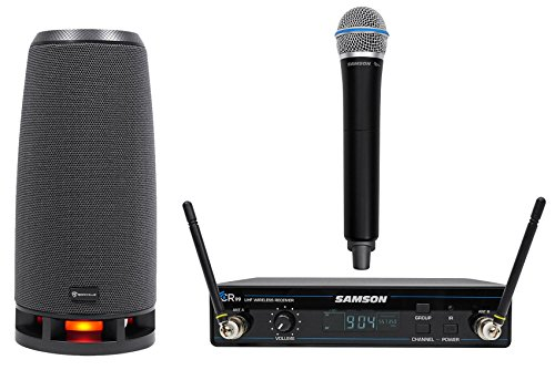 Price comparison product image SAMSON Concert 99 Wireless Handheld 80-Channel UHF Microphone Mic+RockShip