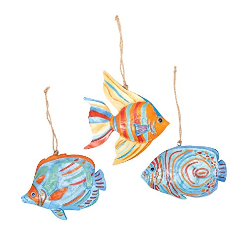 (GALLERIE II Bimini Island Fish Christmas Xmas Ornament A/2)