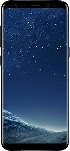 Galaxy S8 SM-G950UZKAXAA GSM/CDMA Factory Unlocked for all carriers ATT, Verizon, Sprint & Tmobile - US Warranty … (Midnight (Galaxy Cdma Unlocked)