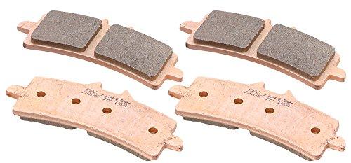 EBC Brakes EBPCK2005 Front Double-H Sintered Brake Pad Change Kit Change Front Brakes