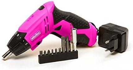 Rosa atornillador inalámbrico: Amazon.es: Bricolaje y herramientas