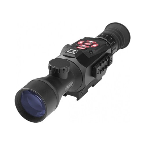 Atn X Sight Ii 3 14X 50Mm Smart Day   Night Rifle Scope W 1080P Video  Ballistic Calculator  Rangefinder  Wifi  E Compass  Gps  Barometer  Ios   Android Apps