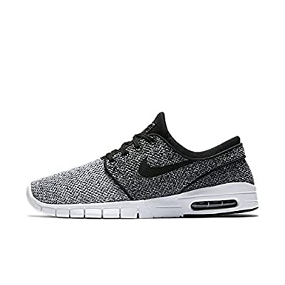 Nike Men's Stefan Janoski Max White/Black-dark GreySneakers - 6 D(M) US