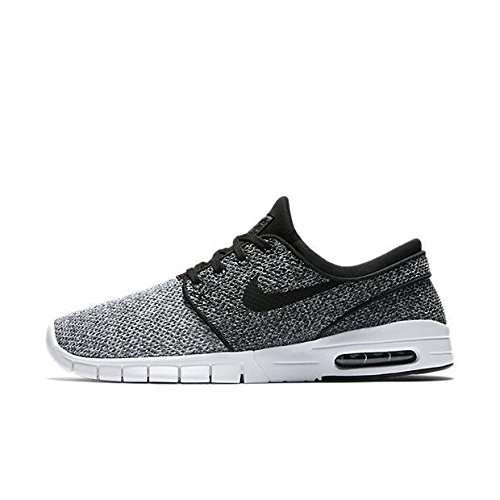 Nike Men's Stefan Janoski Max White/Black-dark GreySneakers - 9 D(M) US
