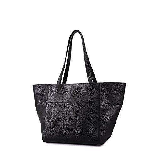 Dudu - Sac porté épaule en cuir - Annabelle - Noir