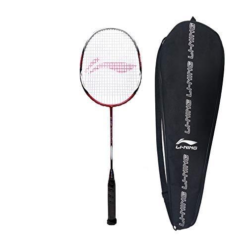 Li Ning G Tek 88 Muscle II Graphite Strung Badminton Racquet  Red/Black