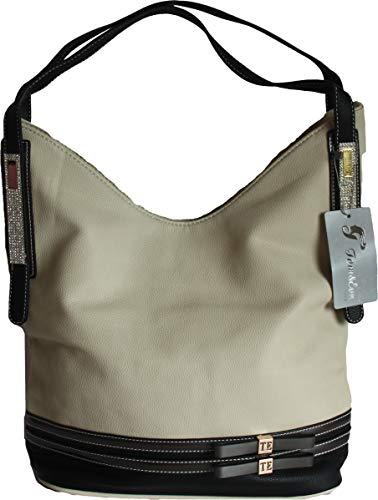 Handbag Beige Paris Eva by Designer Ladies Tote amp;G Large Shoulder amp; H Tom x7wHYRqY