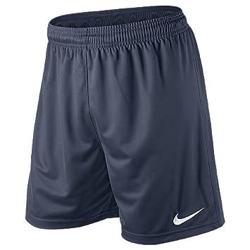 migliore a buon mercato 0f0c5 7fa08 Nike Pantaloni corti sportivi Park Knit per calcio, Uomo: Amazon ...
