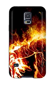 Michael paytosh's Shop Best 4599702K89953816 Shock-dirt Proof Human Torch Case Cover For Galaxy S5