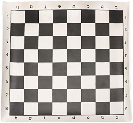 Juego de mesa de ajedrez de piel sintética Small: Amazon.es: Hogar