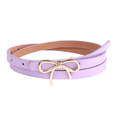 Purple Stud Belt - 6