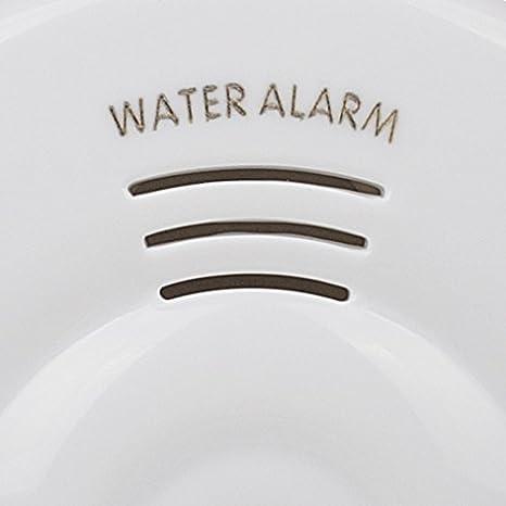 Smartwares WM53_SW Detector de Fugas de Agua con batería, Blanco: Amazon.es: Bricolaje y herramientas