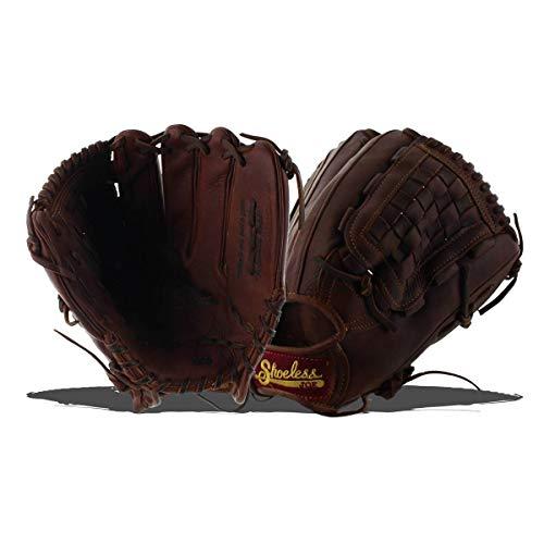 - Shoeless Joe Gloves Basket Weave Pocket Brown Glove, 12-Inch, Left Handed