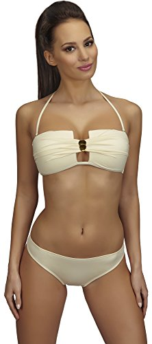 SHE Conjuntos de Bikinis para Mujer Jowita Ecru (204)