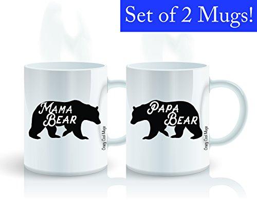 Mama Bear Papa Bear 11 OZ Mom & - Bear Mom