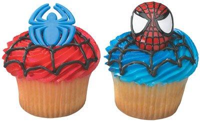 Rings Cupcake SPIDER-MAN, Health Care Stuffs