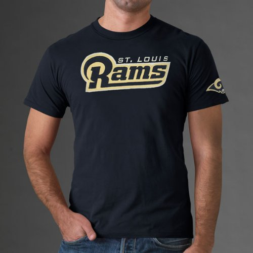St. Louis Rams Men's 47 Brand NFL Fieldhouse Tee (Small) (Mens Fieldhouse Tee)