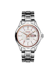 Binlun Business Man Favorite Origin Japanese Automatic Mechanic 5 ATM Water Resistant Watch with Stainless Steel Band