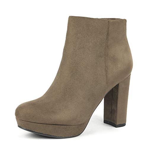 Heel Ankle High Boots - 2