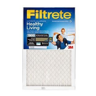 20x25x1 (19.7 x 24.7) Filtrete 1900 Ultimate Allergen Reduction Filter by 3M (4 Pack) (20x25x4 Filter Filtrete compare prices)