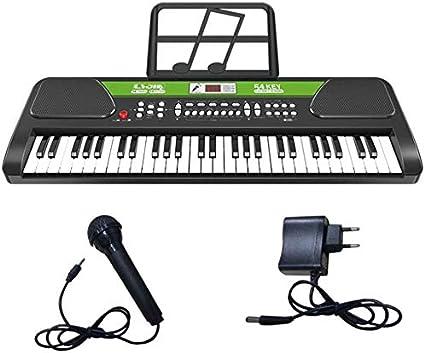 WZB Instrumento multifunción multifunción USB Piano con ...