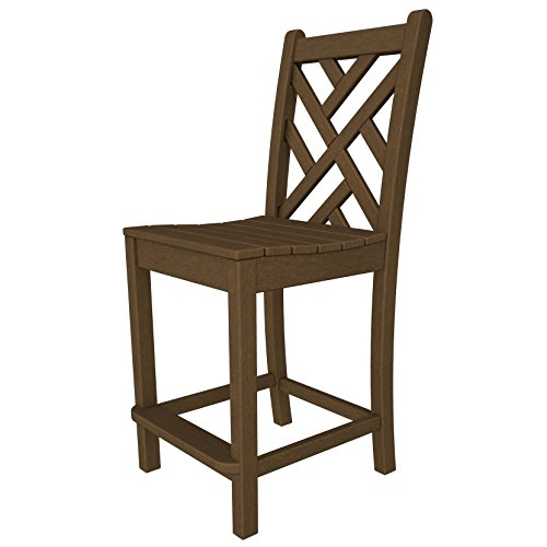 Chippendale Counter Side Chair Finish: Teak (Bar Chippendale)