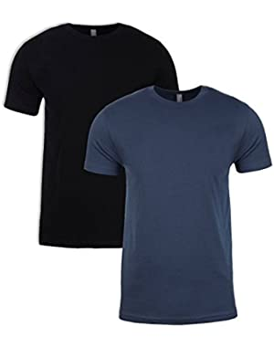 N6210 Shirt, Black + Indigo (2 Pack), Large