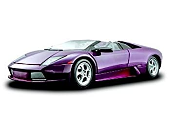 Lamborghini Murcielago Roadster Diecast Model Car In Purple 1 18