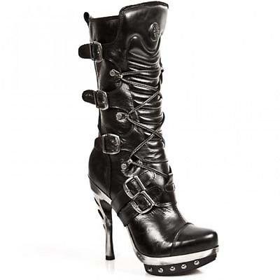 New Rock M.Punk001-C1 Black, Bottes pour Femme