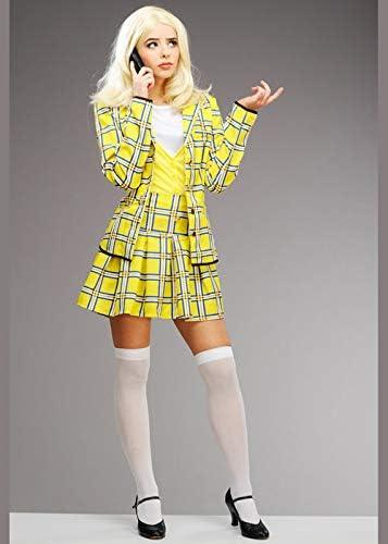 Magic Box Disfraz de Mujer de los años 90, Amarillo, Cher ...