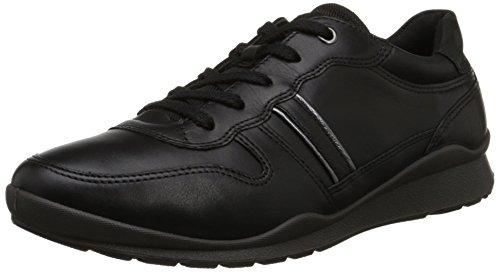 Ecco Footwear Womens Mobile III Premium Sneaker Flat, Black, 42 EU/11-11.5 M US