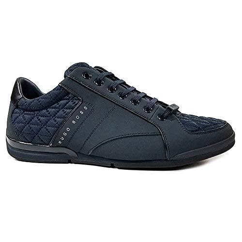 Boss Dark Low Act 2 Hugo Men Blue Sneaker Saturn Fashion AIfqdfCnwc