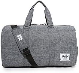 Herschel Supply Co. Novel Duffel Bag (Raven Crosshatch)
