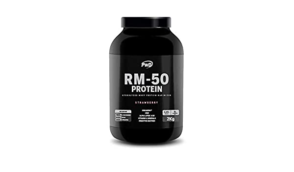 RM-50 Protein 2Kg. (Strawberry): Amazon.es: Salud y cuidado ...