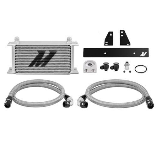 Mishimoto MMOC-370Z-09 Nissan 370Z 2009+/Infiniti G37 2008+ Oil Cooler Kit, Silver