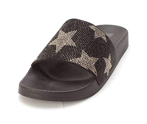 Stars International Peymin5 Concepts Chaussures Inc Femmes Slide Black 1TSwfnnq